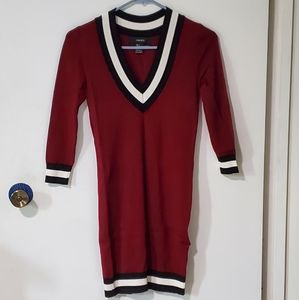 *Additional Photos* F21 Varsity Sweater Dress